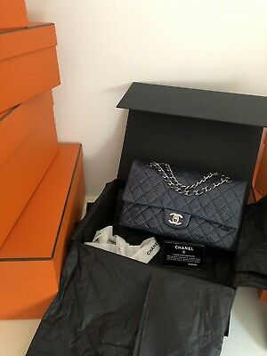 £5500 • Buy *Rare* 💯 Authentic Chanel Classic Flap Bag Exotic Lizard  Skin