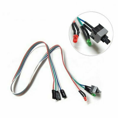 £2.12 • Buy Computer Case Motherboard Power Cable Switch ATX On/Off/Reset PC Accessories