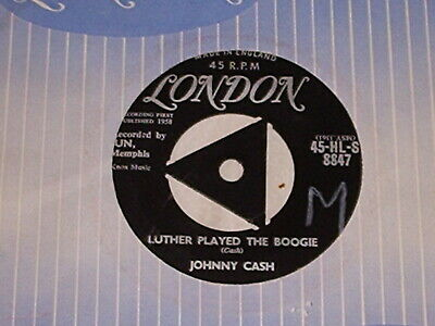 £4.99 • Buy Johnny Cash # Luther Played The Boogie / Thanks A Lot # Rock/abilly 7