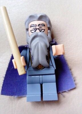 £8.99 • Buy LEGO Harry Potter Albus Dumbledore With The Elder Wand And Cloak Minifigure