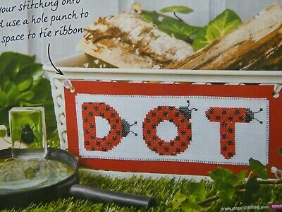 £1 • Buy Ladybird ABC & Numbers Cross Stitch Charts Designed By Lucie Heaton