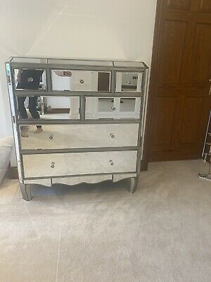 £50 • Buy Antique Venetian Style Mirrored Chest Of Drawers - From Next