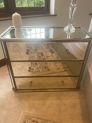 £50 • Buy Antique Venetian Style Mirrored Chest Of 3 Drawers - From Next