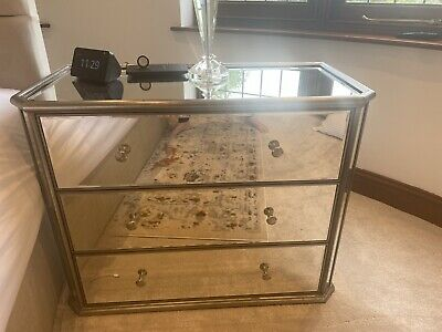 £30 • Buy Antique Venetian Style Mirrored Chest Of 3 Drawers - From Next