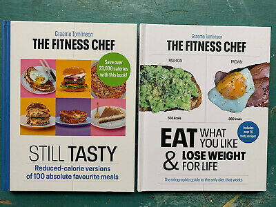 £5 • Buy 2 X The Fitness Chef Book Diet Calorie Counting Recipes Healthy Eating Books