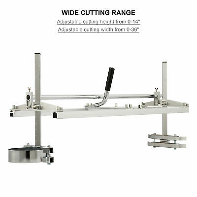 £50 • Buy 14  To 36  Portable Chainsaw Mill Attachment Lumber Milling Planking Guide Bar