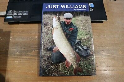 AU21.96 • Buy Just Williams - Nige Williams -  Signed First Edition Pike Fishing Book