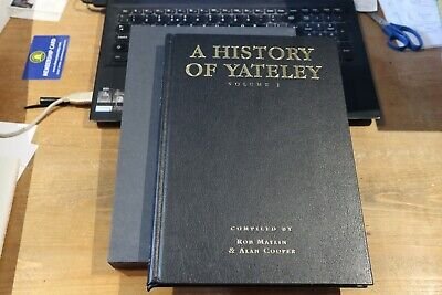 AU109.78 • Buy A HISTORY OF YATELEY Vol 1 -  FIRST EDITION LEATHER BOUND CARP FISHING BOOK