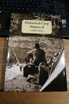 AU64.04 • Buy Historical Carp Waters Ii - Chris Ball - Signed First Edition Carp Fishing Book