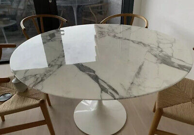 £500 • Buy Knoll Saarinen Marble Dining Table Top - Top Only NO Base