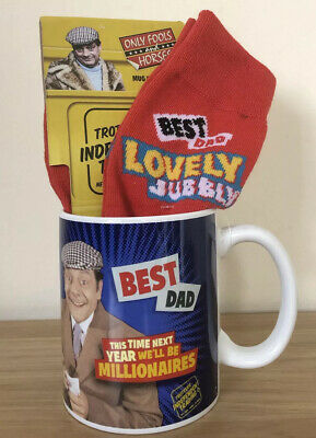 £9.99 • Buy Only Fools And Horses Best Dad Mug & Socks Father's Day Gift Idea Lovely Jubbly