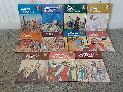 £17.74 • Buy  Biblearn Series  Books For Children! Vintage Hardcover Bible Story, Lot Of 11