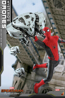 $ CDN150.46 • Buy Hot Toys Spider-Man Far From Home Mysterio's Drones Figure 1/6 Scale In Stock