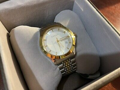 £154 • Buy Gucci Watch Gold Plated & Silver 126.4 Swiss Made