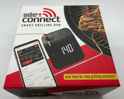 $ CDN59.51 • Buy Weber Connect Smart Grilling Hub 3201 Bt/wifi App Enabled Cooking Thermometer