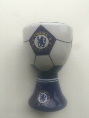 £9.99 • Buy Two New Official Chelsea Football Club Ceramic Egg Cups
