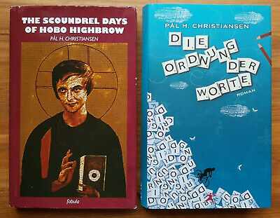 £17.06 • Buy A-ha SAVOY | Scoundrel Days Of HOBO HIGHBROW | 2x BOOK SIGNED Pal Christiansen