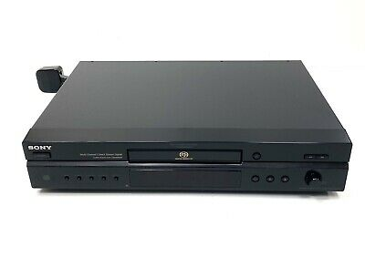 £49.99 • Buy Sony SCD-XE597 Super Audio CD Player - Multi Channel 5.1 Output - Hi-Fi Separate