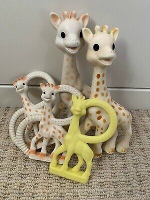 £39.99 • Buy Baby Toy Bundle Sophie La Giraffe Teethers - Squeeky - Different Stages Girafe