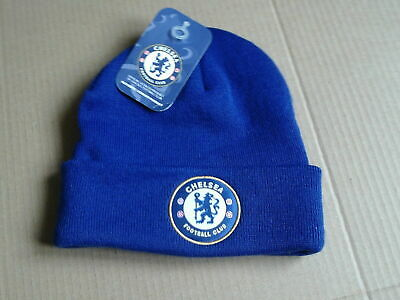 £14.99 • Buy Brand New Official Chelsea Football Club  Bronx Knitted Hat In Blue