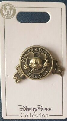 £11.95 • Buy Disney Parks Sculpted Mickey Mouse Pin Trading Logo Pin- 3D