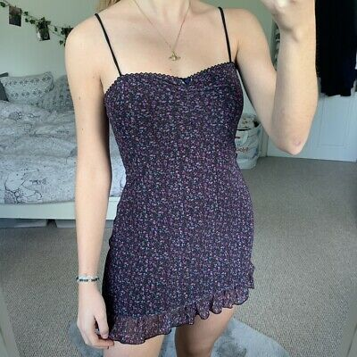 AU24.91 • Buy Urban Outfitters Floral Mesh Dress Size S