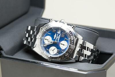£2350 • Buy Stunning Breitling Gents Chrono Cockpit Wristwatch Ref A13358 - Box & Papers
