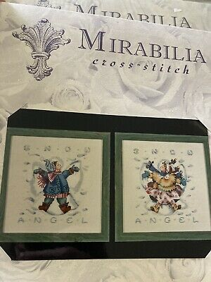 £12 • Buy Mirabilia Cross Stitch Chart - Giggles In The Snow