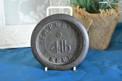 £4 • Buy Vintage Cast Iron Scale Weight