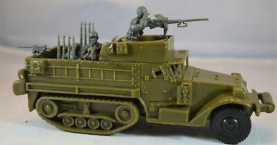 $18.99 • Buy Classic Toy Soldiers World War II US M3 Half Track Vehicle With 4-Man Crew