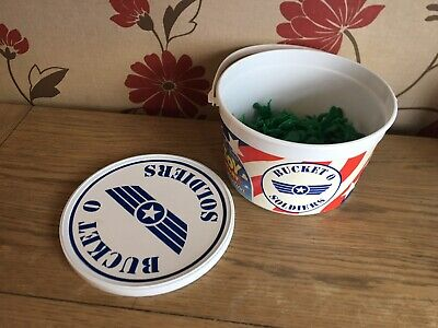 £8.95 • Buy Original Toy Story Bucket O Soldiers X 61 Green Army Men Toy Figures Official