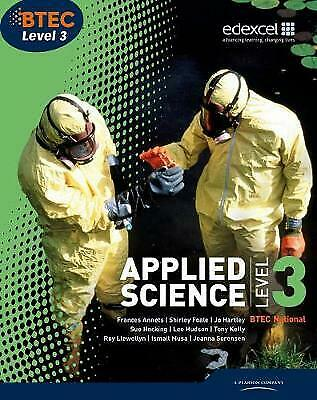 £8.99 • Buy BTEC Level 3 National Applied Science Student Book Annets Ellen Patrick Shirley*