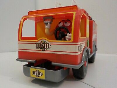 $24.99 • Buy M&M's Fire Truck Fun Official Limited Edition Collectible Dispenser Sound Lights