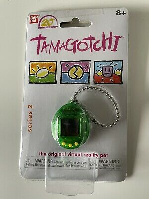 AU25 • Buy (Translucent Green With Yellow) - Tamagotchi, 20th Anniversary Series 2