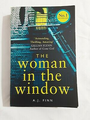 AU12.50 • Buy The Woman In The Window By A. J. Finn (Paperback, 2018) VGC