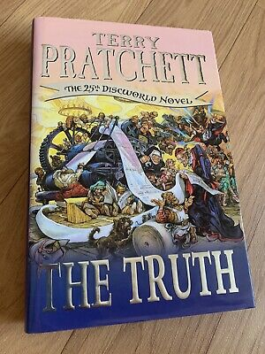 £10 • Buy The Truth By Terry Pratchett (Hardcover, 2000) First Edition/ Printing