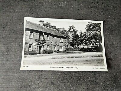 £5 • Buy Mid Century Photo Postcard Kings Arms Hotel Pub Temple Sowerby North Yorkshire
