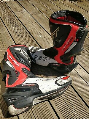 £82 • Buy RST Motorbike Motorcycle Sport Track Tractech Evo  Boots  Used Size 10.5