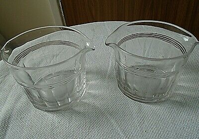 £16 • Buy Pair Of Early Victorian Cut Glass Glass Rinsers