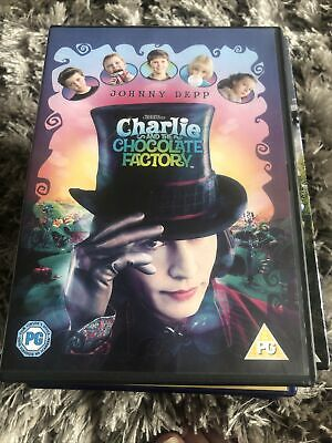 £1 • Buy Charlie And The Chocolate Factory Dvd