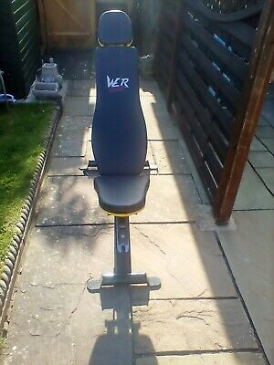 £10 • Buy Weight Bench Used Excellent Condition Multi Gym Workout Exercise Flat Or Sit Up