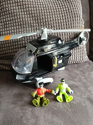 £9.99 • Buy Imaginext - Batman Batcopter With Robin And Riddler Figure