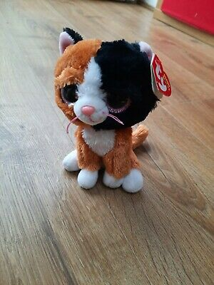 £1.50 • Buy Ty Tauri The Cat Beanie Boos Used With Tags 15cm