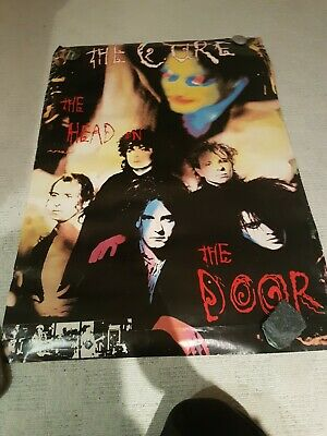 £20 • Buy The Cure The Head On The Door Vintage Poster - Rare Bought 1986 Aged Edges