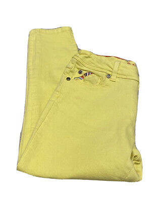 £5.30 • Buy Paul Smith Junior Designer Girls Trousers Jeans Chinos Age 10 Yellow