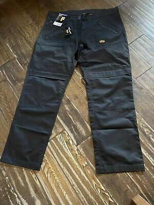 £10 • Buy Site Work Trousers Size Uk18 Black