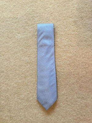 £3 • Buy TED BAKER Knotted Tie - Blue Geometric - 100% Silk