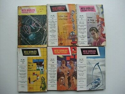 £15 • Buy New Worlds Science Fiction Magazine X 6 Issues