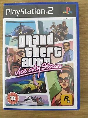 £6 • Buy Grand Theft Auto: Vice City Stories PS2 Complete With Manual And Map