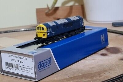 £249.99 • Buy N Gauge Class 74 74009 BR Blue Dapol DCC Ready Chassis